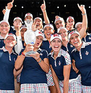 OnlineGolf News: USA beat Europe to claim second straight Solheim Cup