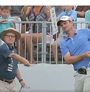 "OnlineGolf News: When marshals attack: Justin Rose hit in the head with ""QUIET PLEASE"" sign"