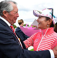 OnlineGolf News: Ai Miyazato enjoys emotional farewell to competitive golf
