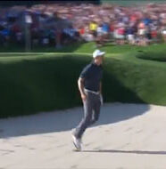 OnlineGolf News: Watch: Spieth's incredible bunker shot to win Travelers