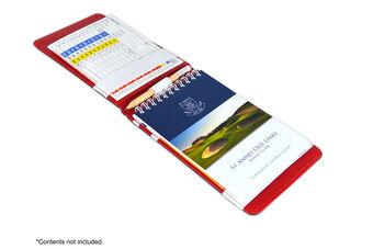Premium Ostrich Scorecard Hold