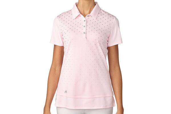 adidas Golf Ladies Printed Polo Shirt