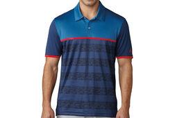 adidas Golf climacool 2D-Camo Stripe Polo Shirt