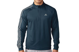 adidas Golf 3 Stripes 1/4 Zip Fleeced Windtop