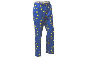 Royal and Awesome Golf Trousers