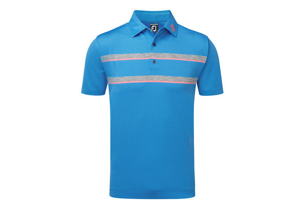 FJ Polo Dbl Spc Dye Stripe W7