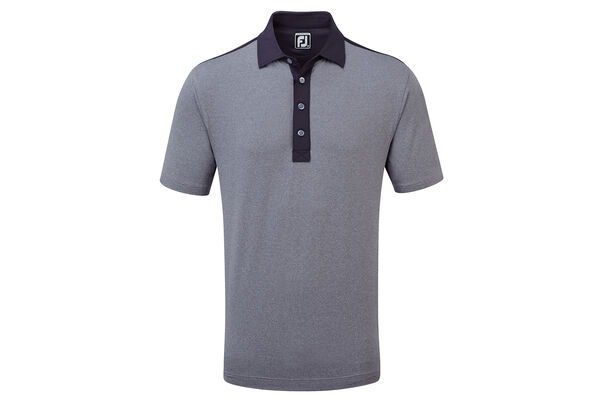 FJ Polo Heather Solid Lisle W6