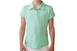 adidas Golf Junior Essentials Heather Polo Shirt