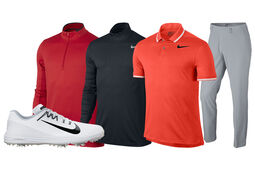 Nike Men's Dri-Fit Red Outfit