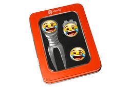 emoji Laughing Divot Tool Set