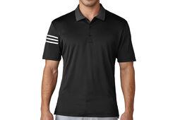adidas Golf 3 Stripe Club Chest Polo Shirt