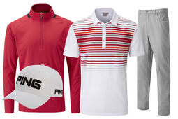 Ping Men's Red Tour Outfit