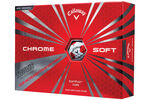 Callaway Golf Chrome Soft Truvis 12 Golf Balls