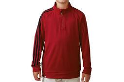 adidas Golf Junior 3 Stripes 1/4 Zip Windtop