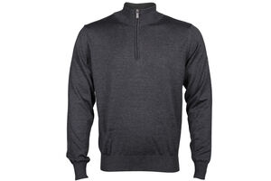 Palm Grove Half Zip Sweater