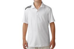 adidas Golf Junior climacool 3-Stripes Polo Shirt