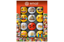 Emoji Golf 12 Golf Ball Pack