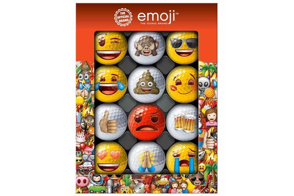 Emoji Golf Balls 12 Pack