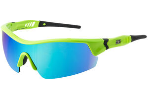 Dirty Dog Edge Blue Fusion Green Golf Sunglasses