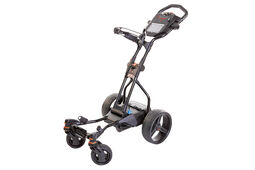 BIG MAX Coaster Quad Brake 18 Hole Electric Trolley