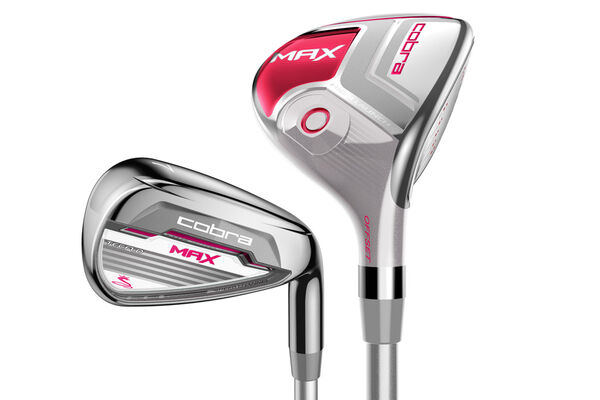 Cobra Golf Ladies MAX 4-5 Hybrid & Irons Graphite 6-SW