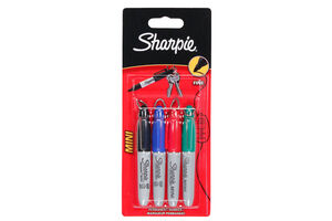 Sharpie Mini Fine Marker 4 Colour Pack
