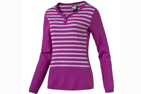 PUMA Golf Ladies Scoop Neck Sweater