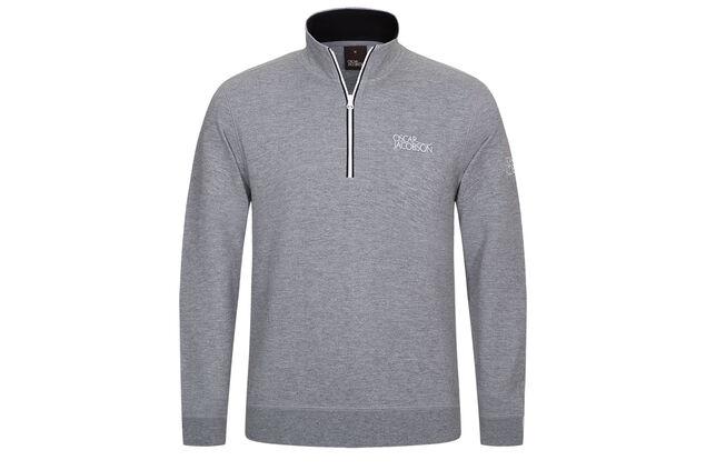 Oscar Jacobson Bradley Tour Half Zip Sweater Online Golf