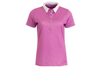 Green Lamb Polo Contrast ColW6