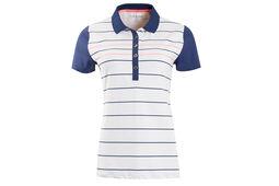 Calvin Klein Ladies Striped Polo Shirt