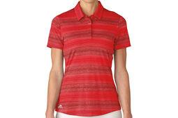 adidas Golf Ladies Multi Melange Polo Shirt