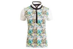 Calvin Klein Ladies Printed Polo Shirt