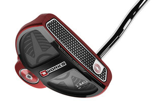 Odyssey O Works 2 Ball Red SS Pistol Putter