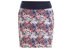 Calvin Klein Ladies Printed Rib Top Skort