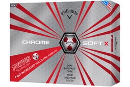 Callaway Golf 2017 Chrome Soft X Truvis 12 Golf Balls