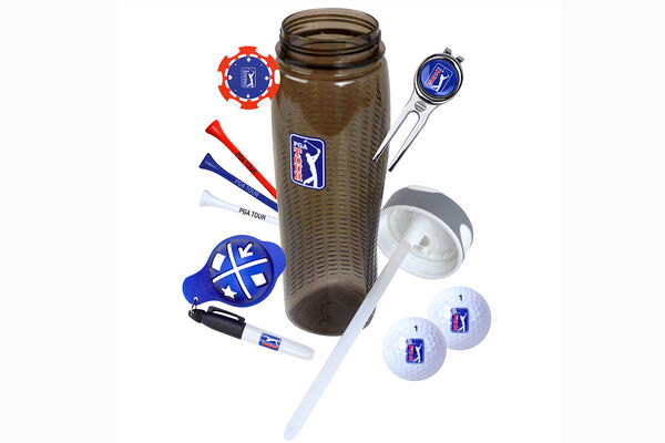 PGA Tour Drinks Bottle GiftSet