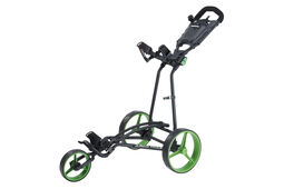 Big Max TI1000 Autofold Plus 3 Wheel Push Trolley