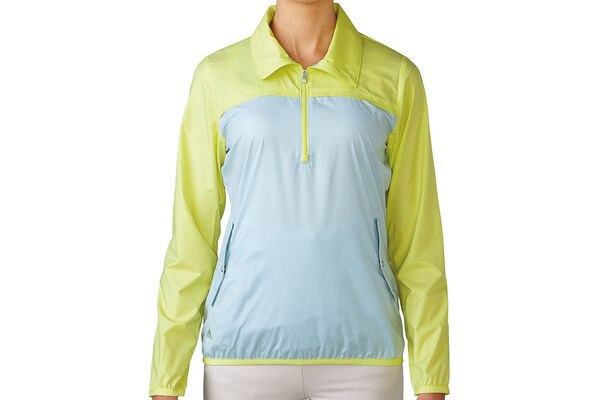 adidas Golf Ladies 1/4 Zip Windshirt