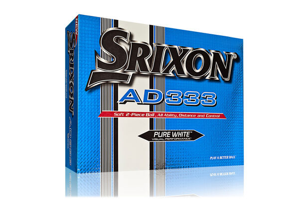 Srixon AD333 12 Ball Pack