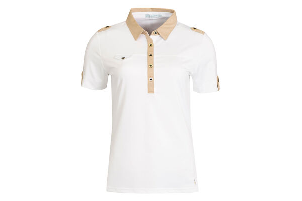 Green Lamb Polo Chest PocketW6