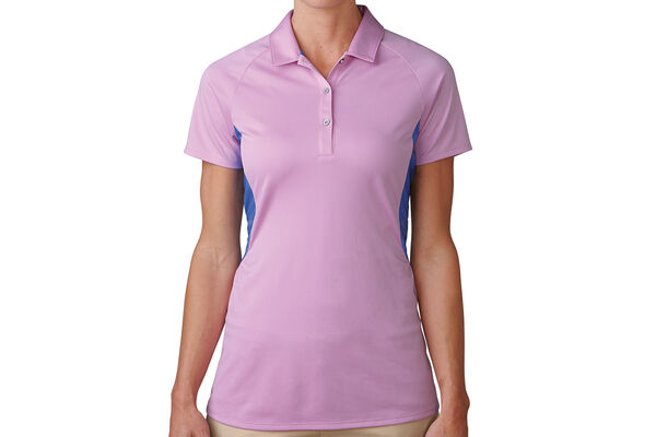 adidas Golf Ladies climachill Peplum Polo Shirt