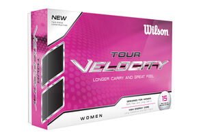 wilson-ladies-tour-velocity-12-golf-balls