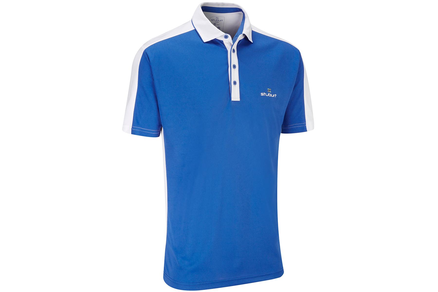 Stuburt moisture wicking polo shirt online golf for Moisture wicking dress shirts