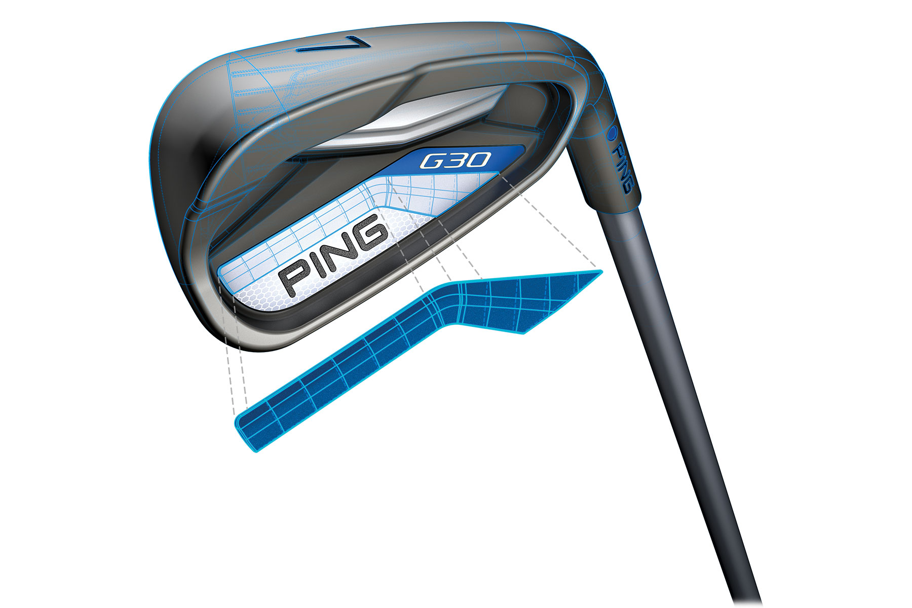 ping g30 irons steel 5 sw online golf. Black Bedroom Furniture Sets. Home Design Ideas