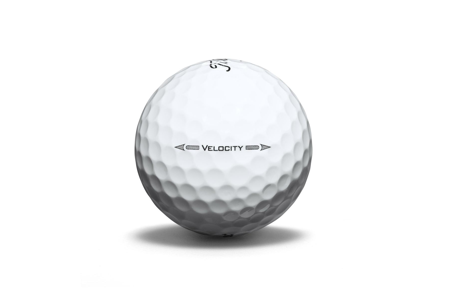 Titleist Velocity Double Digit 12 Golf Balls 2016   Online Golf