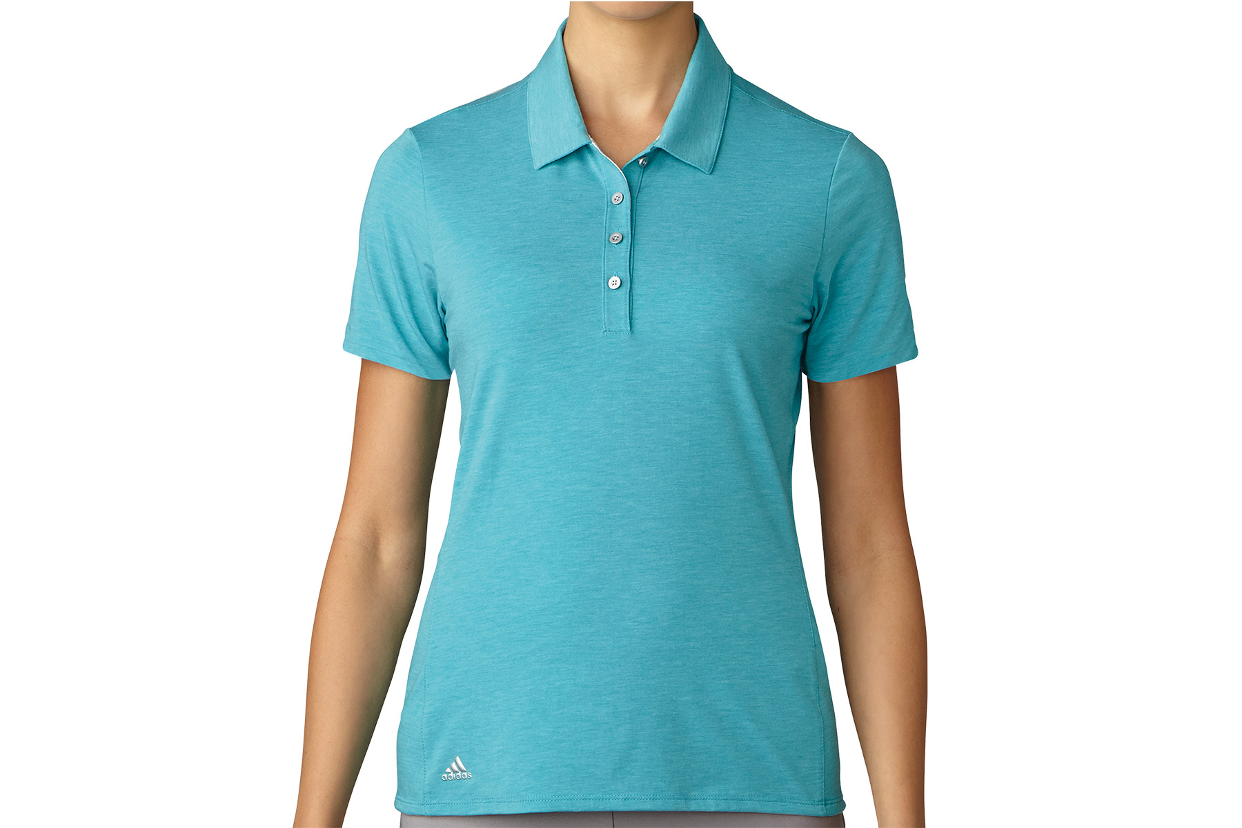 Adidas Golf Ladies Essentials Cotton Hand Polo Shirt