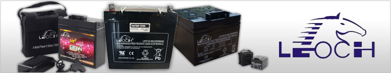 Leoch Electric Trolley Batteries
