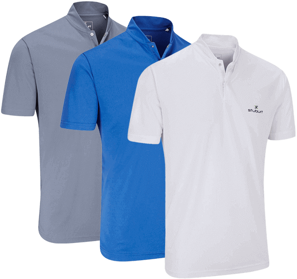 Stuburt Fashion Collar Polo Shirt