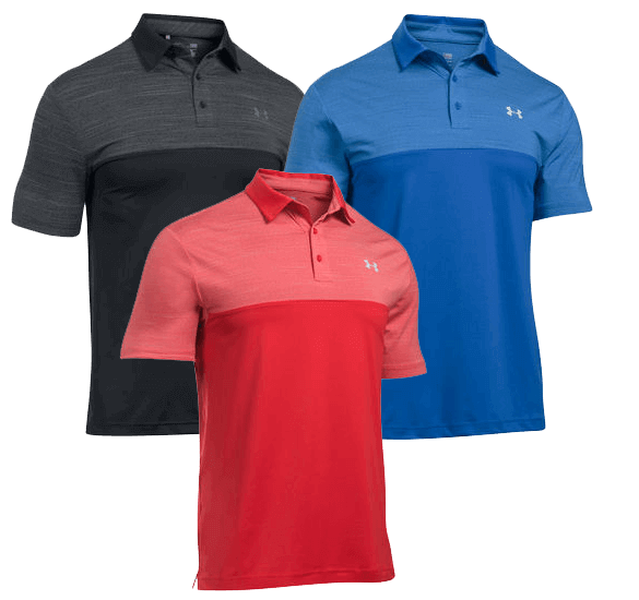 Under Armour Playoff Blocked Polo Shirt