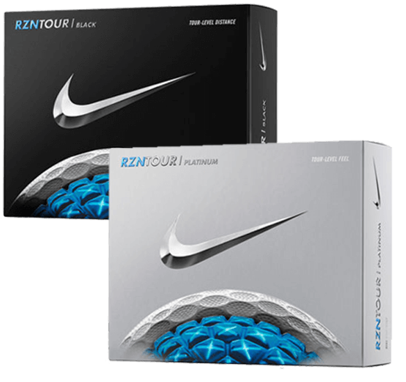 Nike Golf RZN Tour Platinum 12 Golf Balls 2016